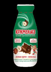 «Кржмелька » - молочно-ореховые коктейли НА МОЛОКЕ, лесные орехи – шоколад, 340 г стекло бутылка, 6 шт.