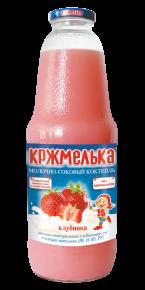 """Молочно-соковый коктейль """"Кржмелька"""" клубника, 1030г, 6 шт"""