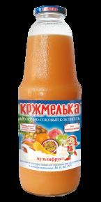 """Молочно-соковый коктейль """"Кржмелька"""" мультифрукт, 1030г, 6 шт"""