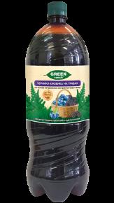 """Газированный напиток """"GREEN ranch"""" черника-ежевика на травах, 2л, 6 шт"""